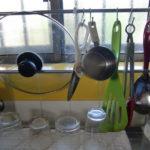 キッチンツールハンガーで台所が便利になる!