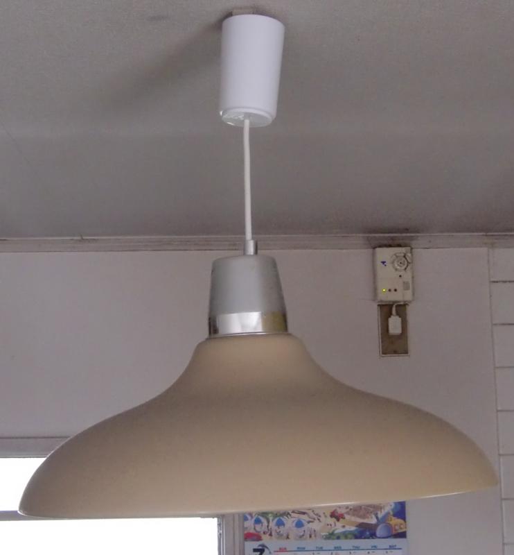 キッチンのペンダントライト