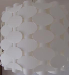 和紙で作られた電球