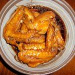 鶏手羽先の黒酢煮込み